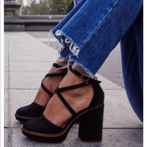 Free people Remi platform heels